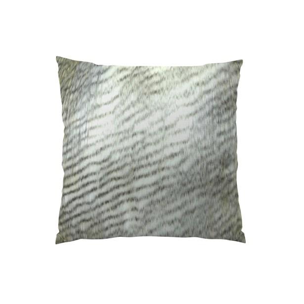 Alaskan Hawk Handmade Throw Pillow Size: 20