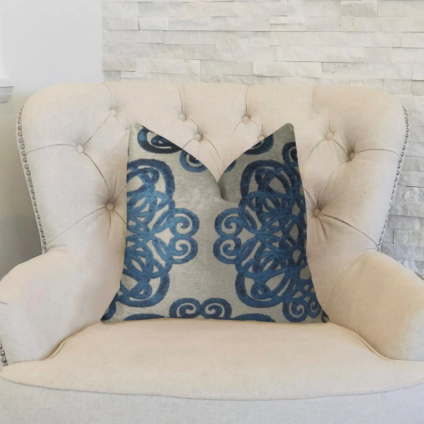 Archetype Sapphire Double Sided Lumbar Pillow Size: 12