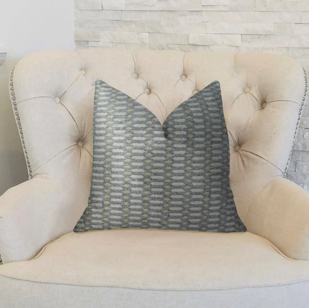 Cicle Joiners Handmade Throw Pillow Size: 20
