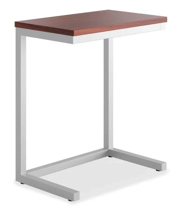 Occasional Cantilever End Table Color: Chestnut
