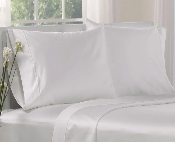 1000 Thread Count Cotton Solid Pillowcases Size: Queen