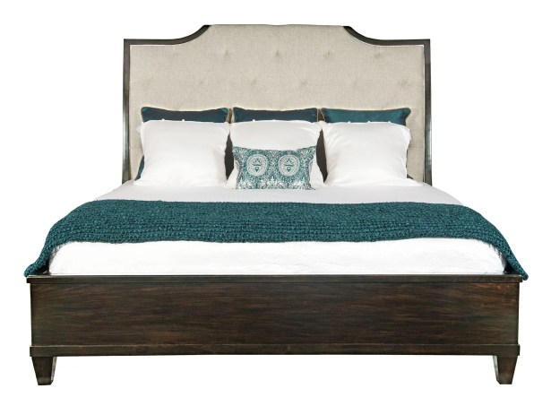 Sutton House California King Upholstered Sleigh Bed