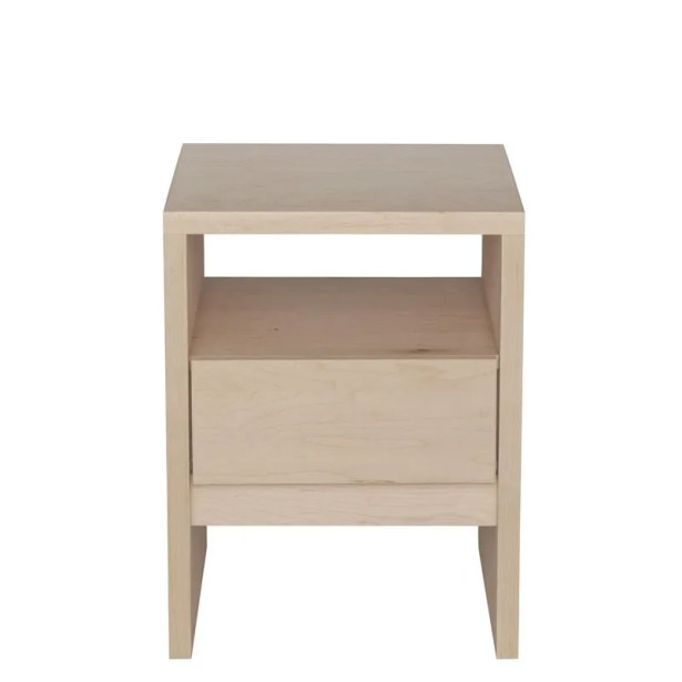 Kadon End Table Color: Blue, Wood Veneer: Painted Eco-MDF