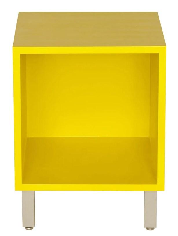 Multimedia Cube Color: Clear, Wood Veneer: Walnut