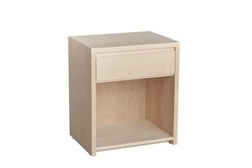 Kadon 1 Drawer Nightstand Wood Veneer: Maple, Color: Yellow