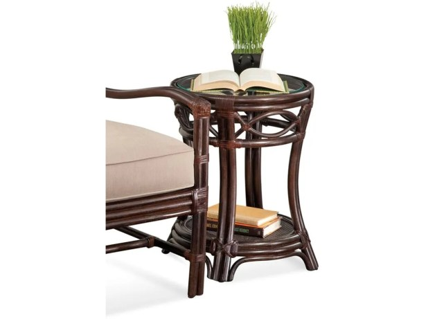 Manchester End Table Color: Black