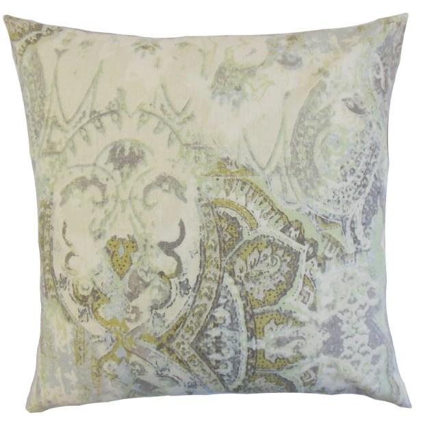 Havilah Floral Bedding Sham Size: Queen, Color: Vineyard