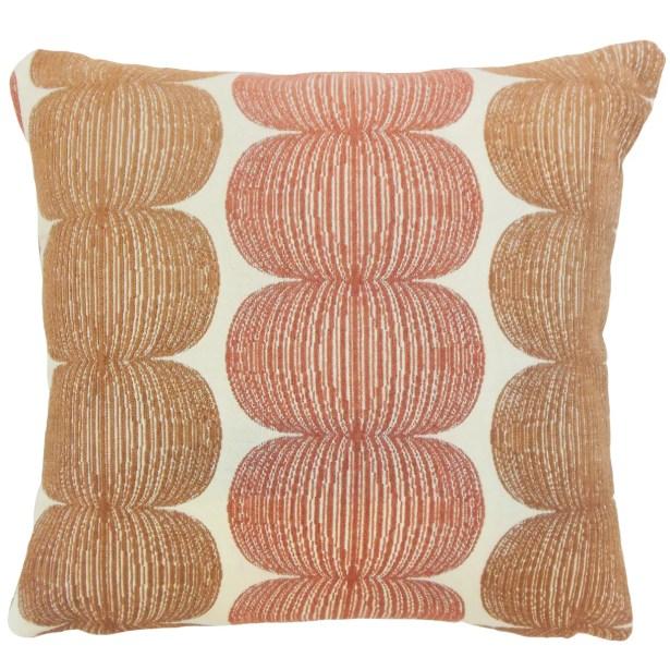 Sophronia Graphic Bedding Sham Color: Marmalade, Size: Euro