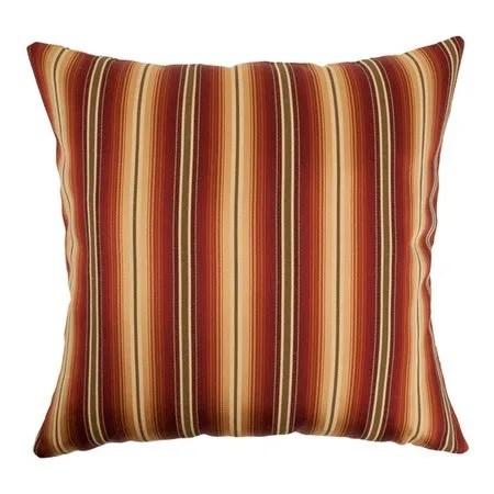 Bailey Stripes Bedding Sham Size: Standard, Color: Sunset