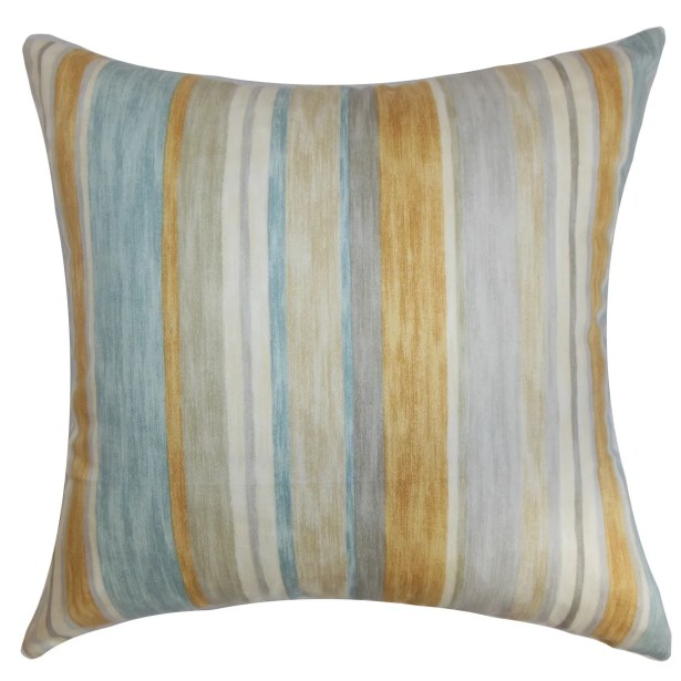 Narkeasha Cotton Throw Pillow Size: 22