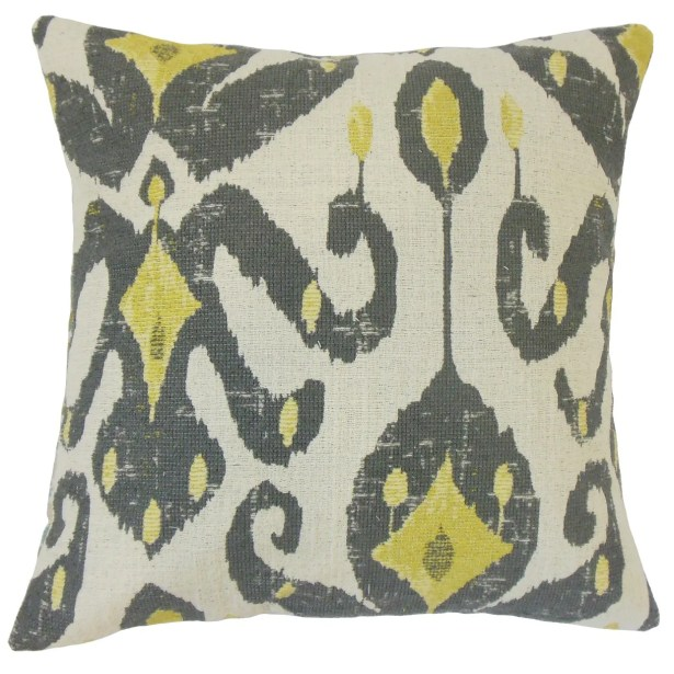 Veradisia Ikat Throw Pillow Size: 20