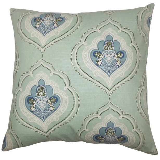 Aafje Floral Throw Pillow Cover Size: 20