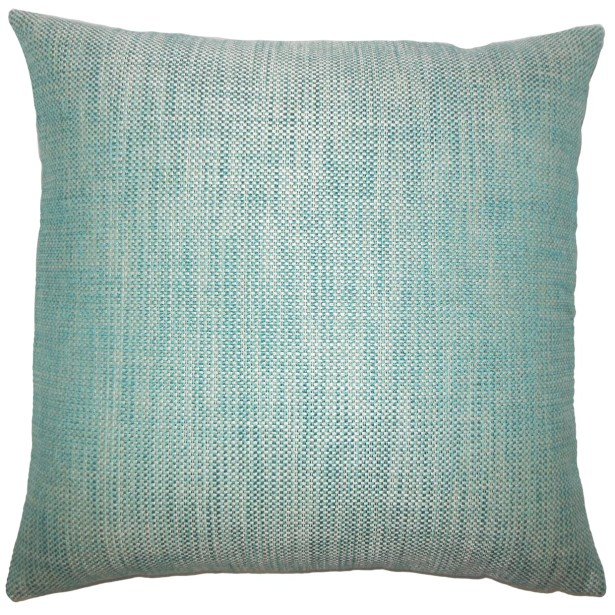 Doroteia Weave Floor Pillow Color: Peacock