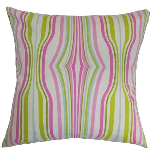 Cachoiera Stripes Bedding Sham Size: Standard, Color: Bubblegum