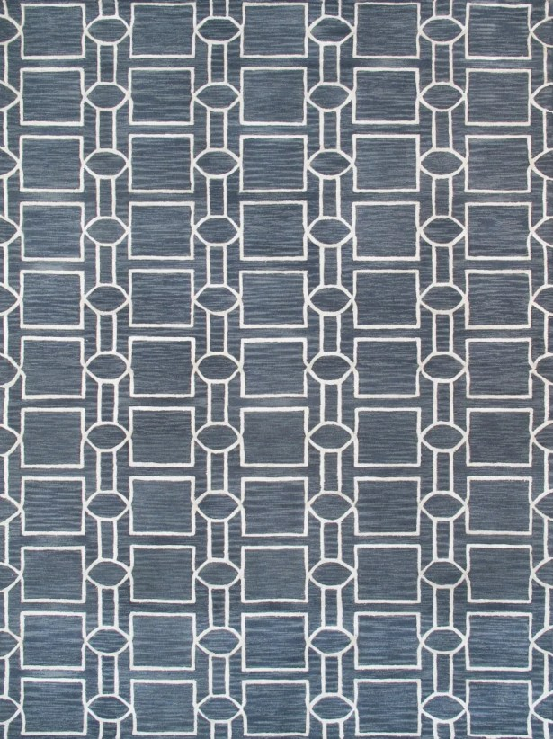 Venice Hand Tufted Transitional Gray Area Rug Rug Size: Rectangle 4' x 6'