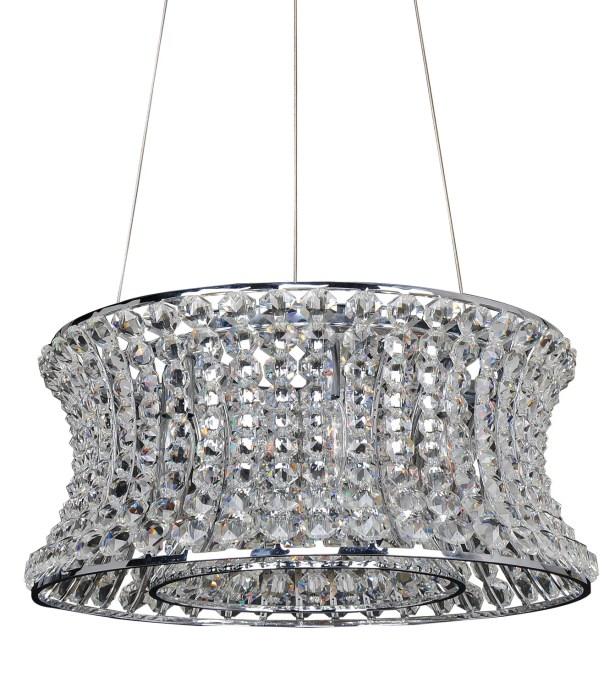 Corsette 12-Light Crystal Chandelier