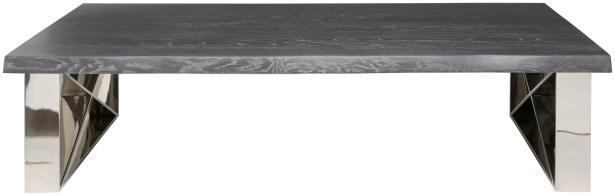 Aix Coffee Table Top Color: Oxidised Grey