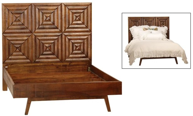 Deblois Panel Bed Size: Queen