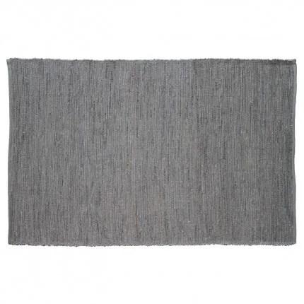 Last Newspaper Gray Area Rug Rug Size: Rectangle 6' x 9'