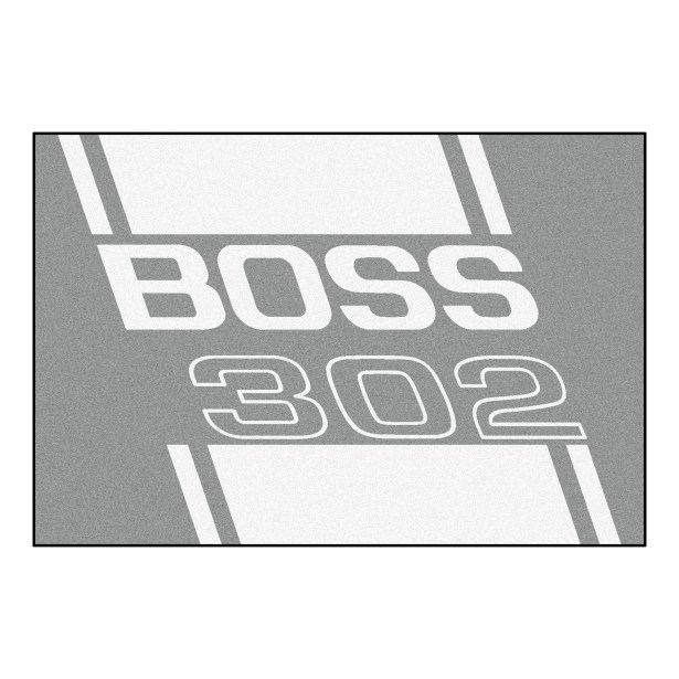 Ford - Boss 302 Rug Rug Size: 5' x 8'