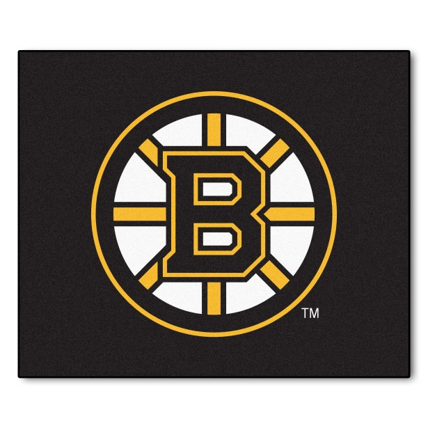 NHL - Boston Bruins Doormat Mat Size: 5' x 6'