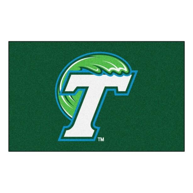 Collegiate NCAA Tulane University Doormat