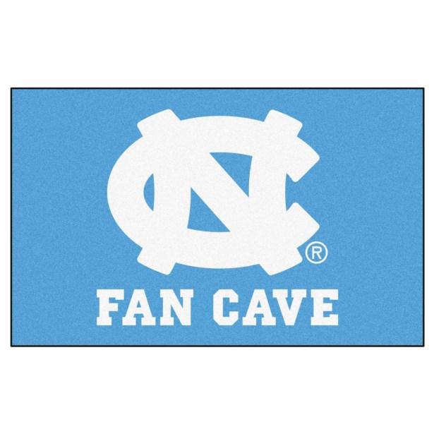 Collegiate NCAA University of North Carolina - Chapel Hill Fan Cave Doormat