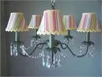 Camillah 5-Light Shaded Chandelier Shade: Central Park Sage