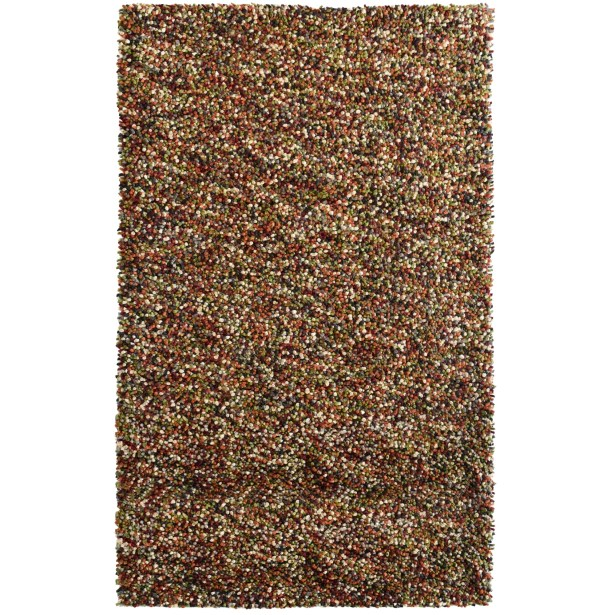 Carida Spice Hand Woven Purple/Green/Beige Area Rug Rug Size: 4' x 6'