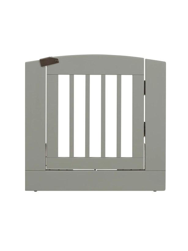 Daniela Individual Panel Dog Gate with Door Size: Medium (24