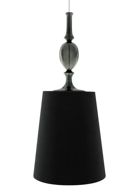 Iliana 1-Light Cone Pendant Finish: Black, Shade Color: Black, Bulb Type: Compact Fluorescent 277V