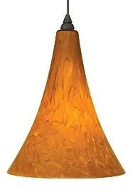 Melrose 1-Light Cone Pendant Finish: Black, Shade Color: Ferrari Red, Bulb Type: 1 x 60W 120V Incandescent