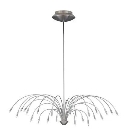 Staccato 24-Light Sputnik Chandelier Length: 44