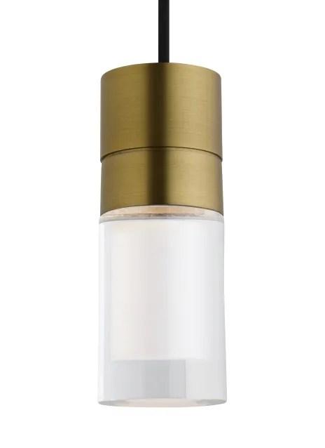 Crum 3-Light Cylinder Pendant Bulb Type: Integrated LED 90 CRI 2200L 120V (T24), Shade Color: Orange