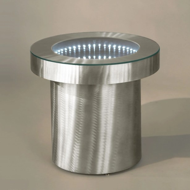 Arencibia End Table Color: Aluminum