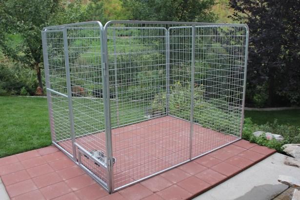Basic Galvanized Steel Yard Kennel Size: 72