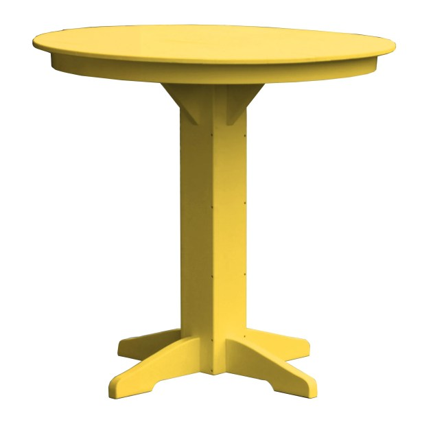 Rochester Bar Table Finish: Yellow