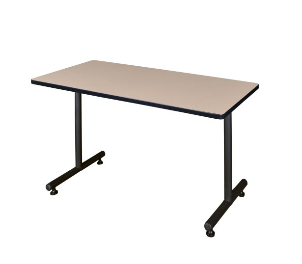 Training Table with Wheels Size: 42