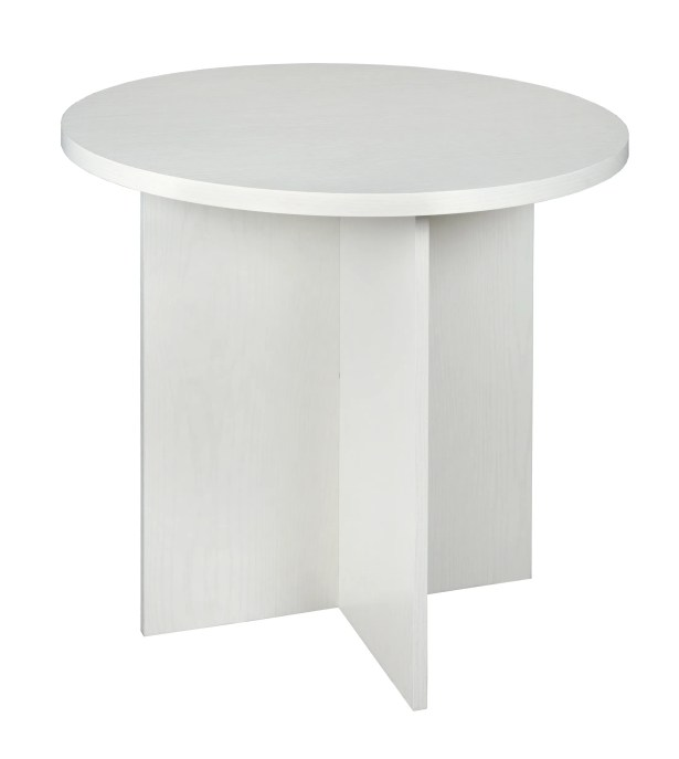 Magaw End Table Color: White Wood Grain