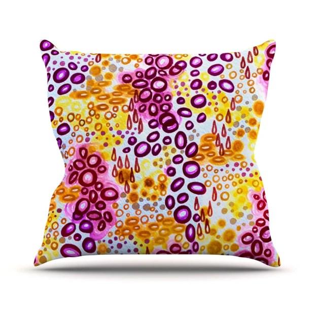 Persuasin by Ebi Emporium Throw Pillow Size: 26