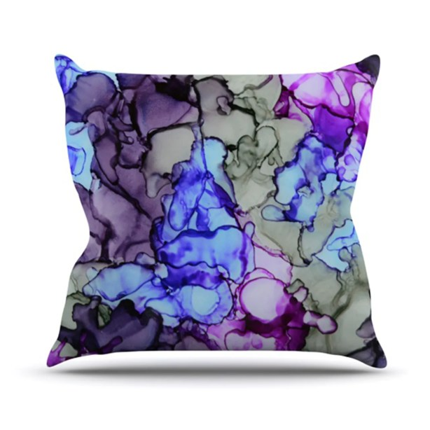 String Theory Throw Pillow Size: 26