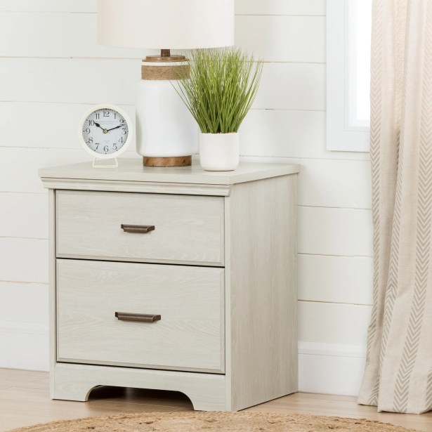 Versa 2 Drawer Nightstand Color: Country Pine