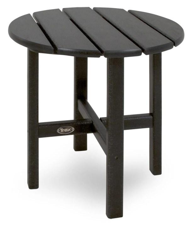 Cape Cod Side Table Color: Charcoal Black