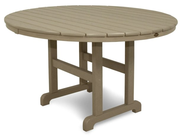 Monterey Bay Dining Table Finish: Sand Castle, Table Size: 48
