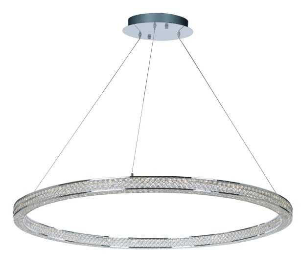 Ambrose 4-Light LED Crystal Chandelier Size: 2.75