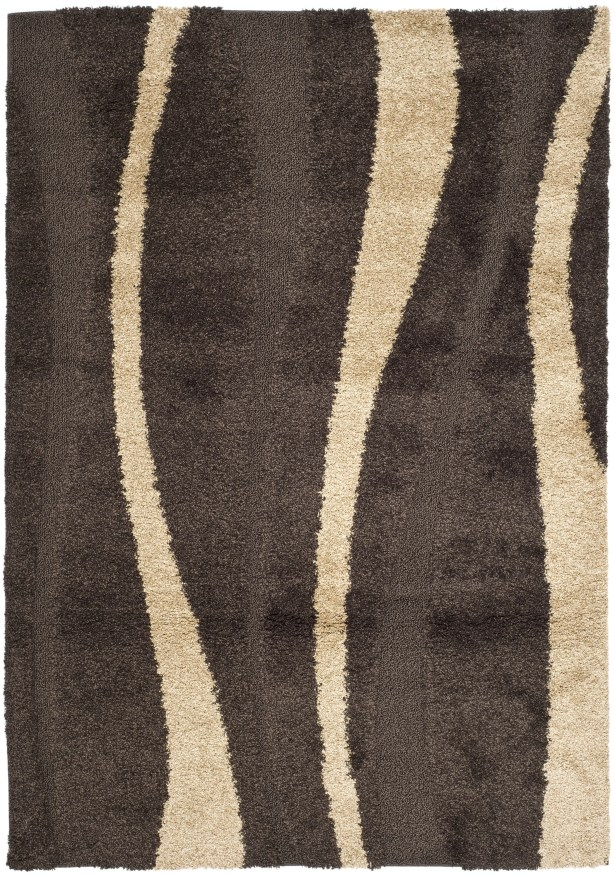 Mika Brown Area Rug Rug Size: Rectangle 4' x 6'