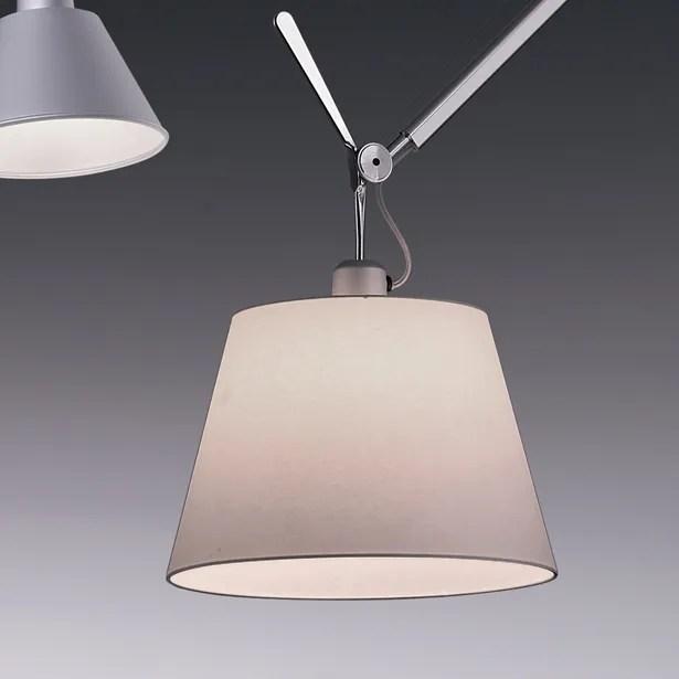 Tolomeo 1-Light Mini Pendant Bulb Type: 100W Incandescent, Shade Color: Fibre, Shade Size: 12