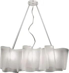 Triple Linear Logico Suspension Ceiling Light Size: Mini, Bulb Type: Fluorescent 3x18W GU24 UNV