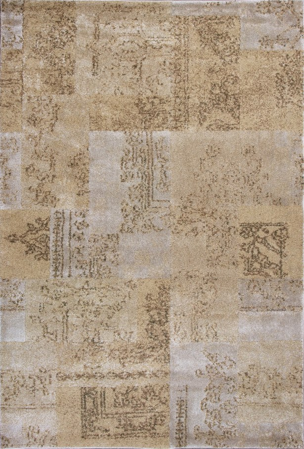 Timeless Champagne Tapestry Area Rug Rug Size: Rectangle 5'3