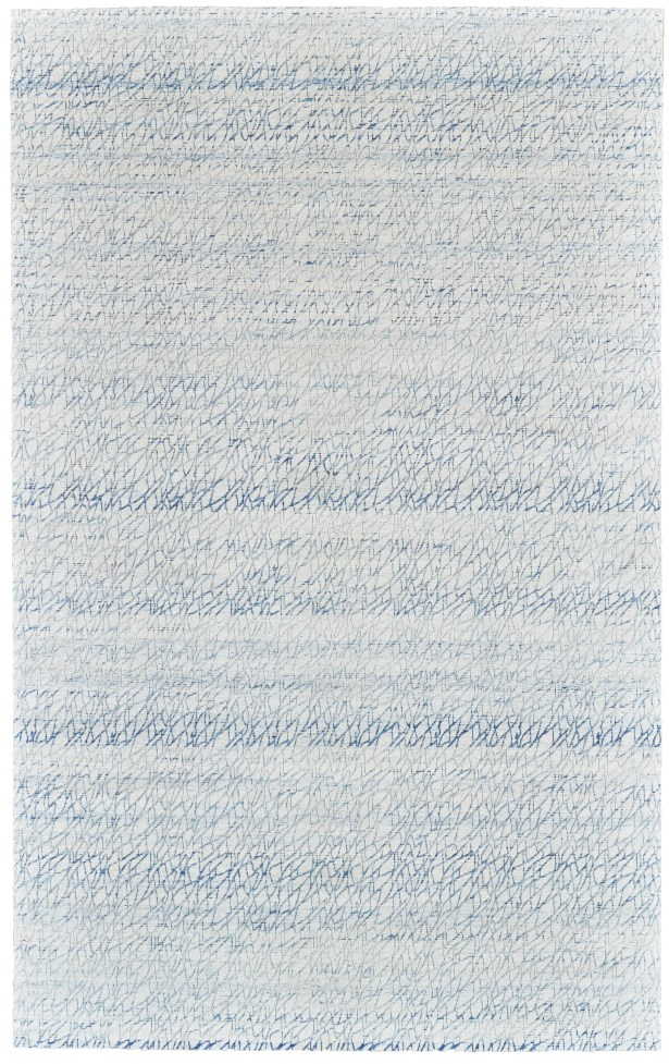 Jarice Hand-Woven Light Blue Area Rug Rug Size: Rectangle 8' x 10'